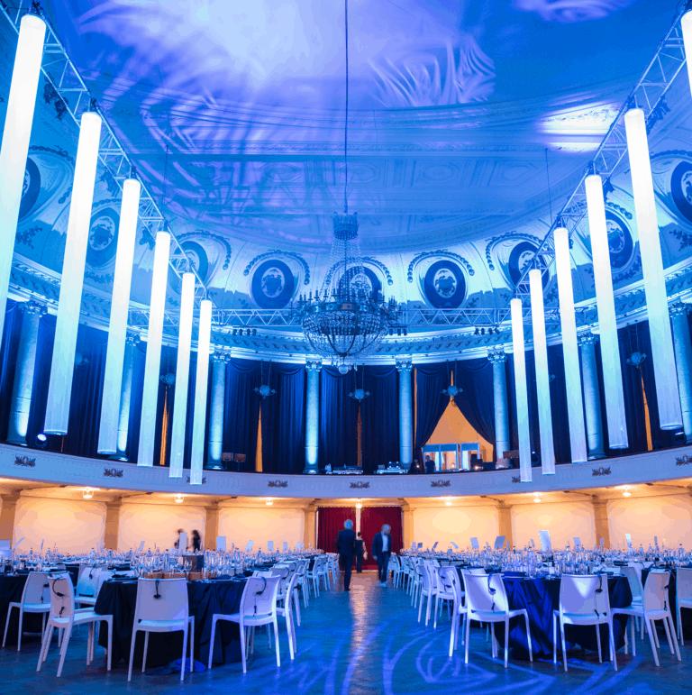 So Event organise votre événement de A à Z. Décoration, éclairage, concept, animations, sonorisation, éclairage, catering, nous nous chargeons de tout.