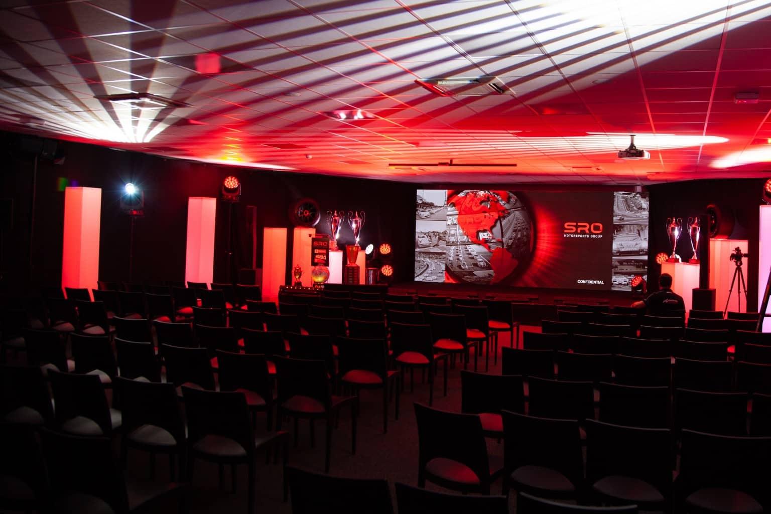 Organisation de la conférence de presse d''SRO par So Event