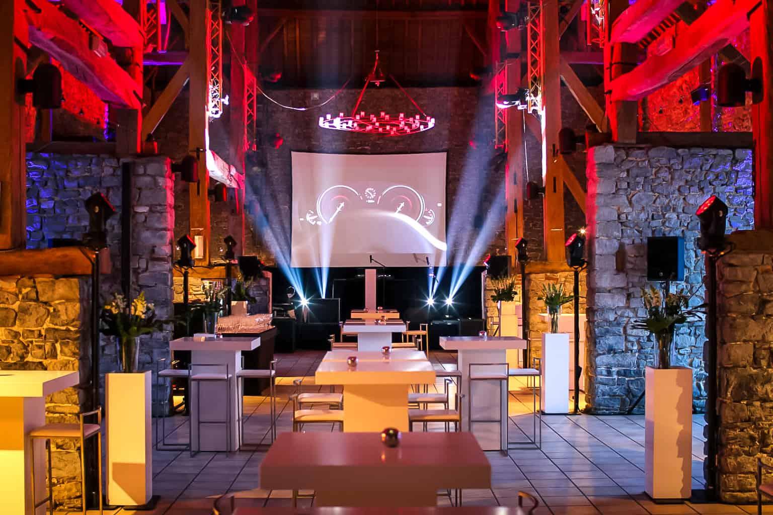 Soirée de lancement de la BMW série 5 cez Bortolin, organisée par So Event