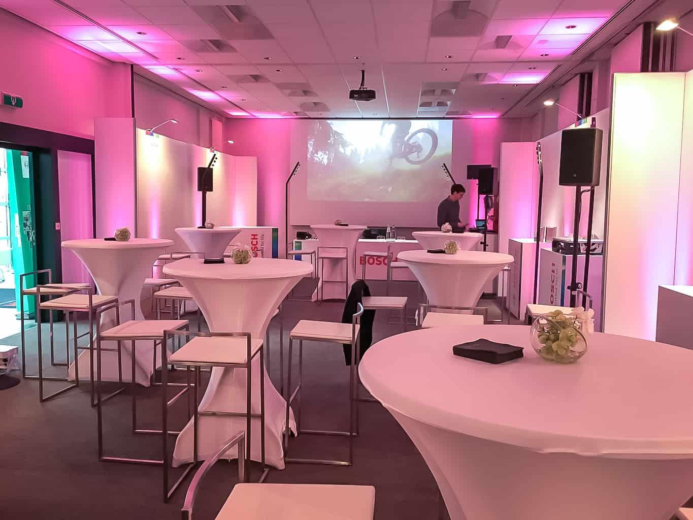 Evénement client pour Bosch organisé par So Event