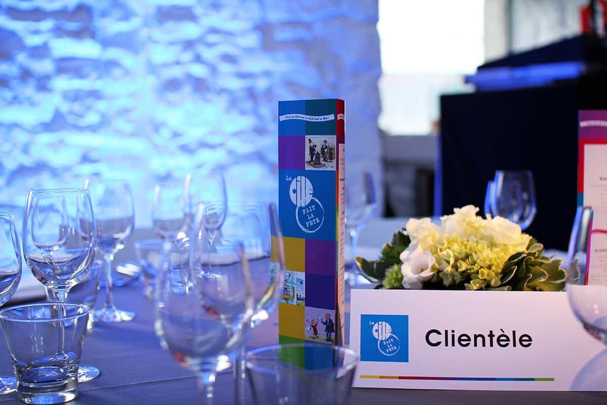 Diner spectacle pour les 100 ans de la Cile