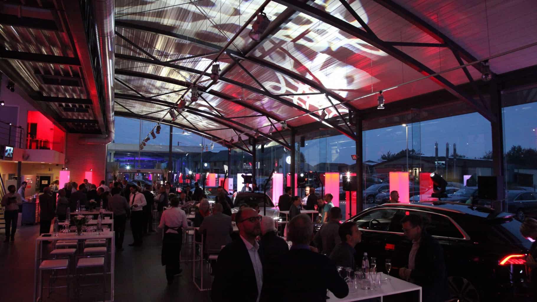 Lancement du la nouvelle Audi Q8 chez Mazzoni à Waimes organisé par So Event