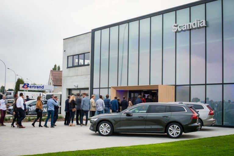 Inauguration de la nouvelle concession Volvo-Scandia à Villers-Le-Bouillet et lancement de la V60 organisé par SO Event.