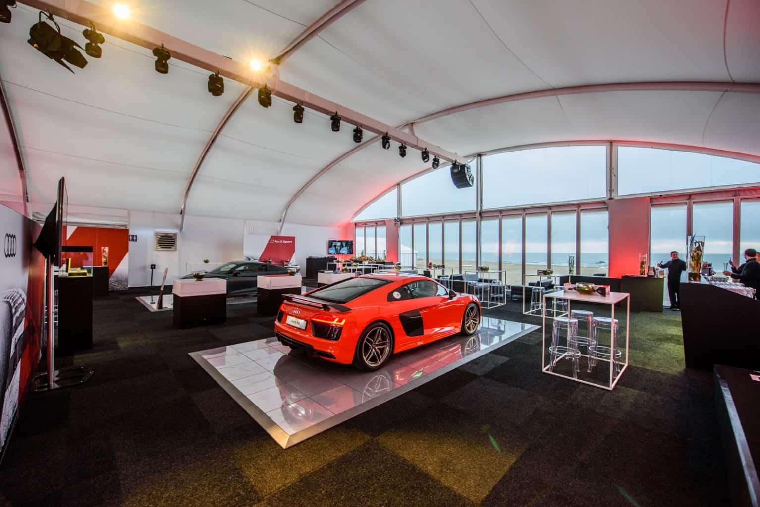Présentation de la nouvelle R8 d'Audi organisée par So Event