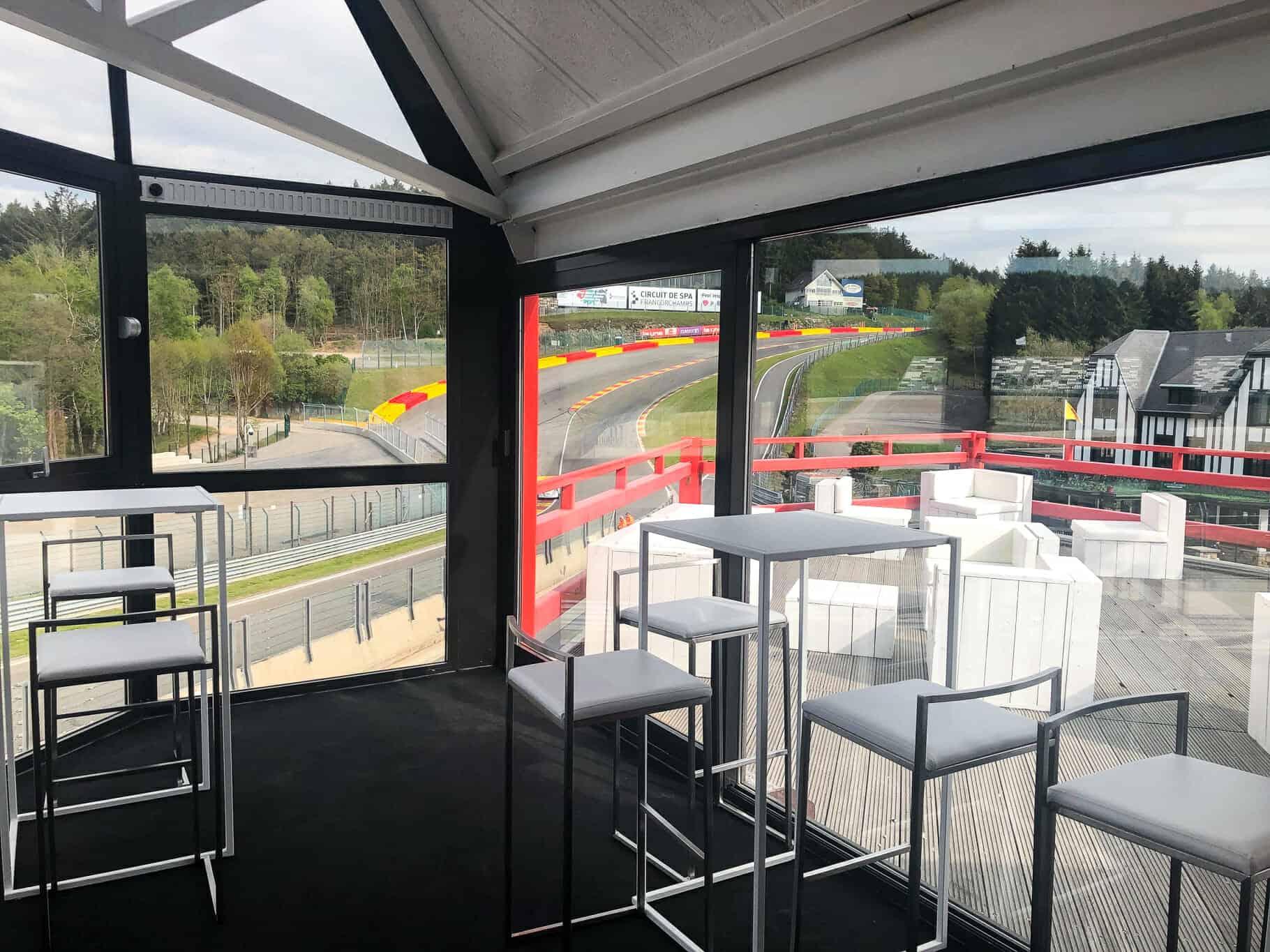 Aménagement des espaces pour les Spa-Classic 2019 réalisés par So Event