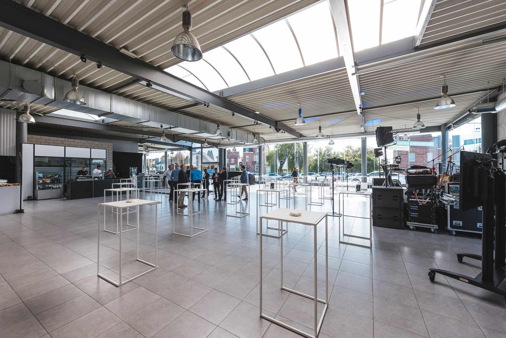 Inauguration du Garage Bernard à Hannut organisée par So Event